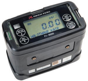 FI-8000P Riken Gas Indicator & Accessories